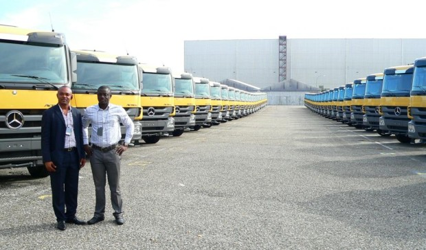 Nigerianischer Bierlieferant übernimmt 50 Mercedes-Benz Actros