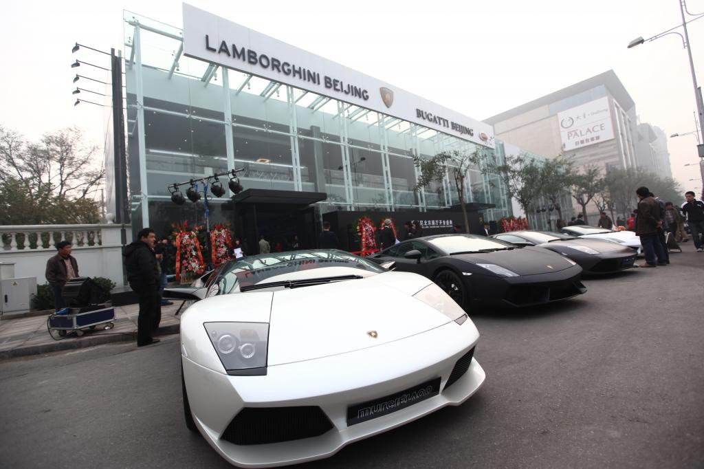 Peking – Lamborghinis Vertriebsmittelpunkt in der Asien-Pazifik-Region
