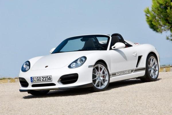 Porsche zeigt Boxster Spyder in LA