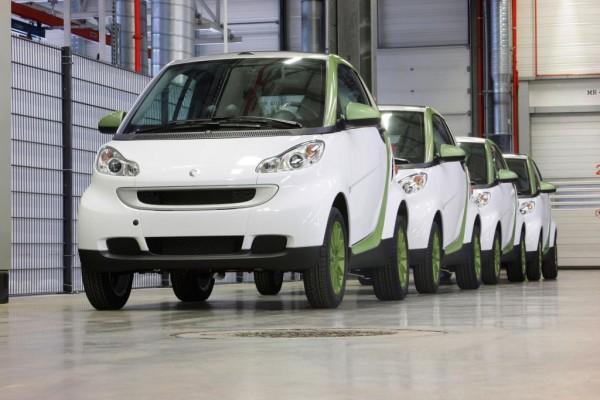 Produktionsstart für den smart fortwo electric drive