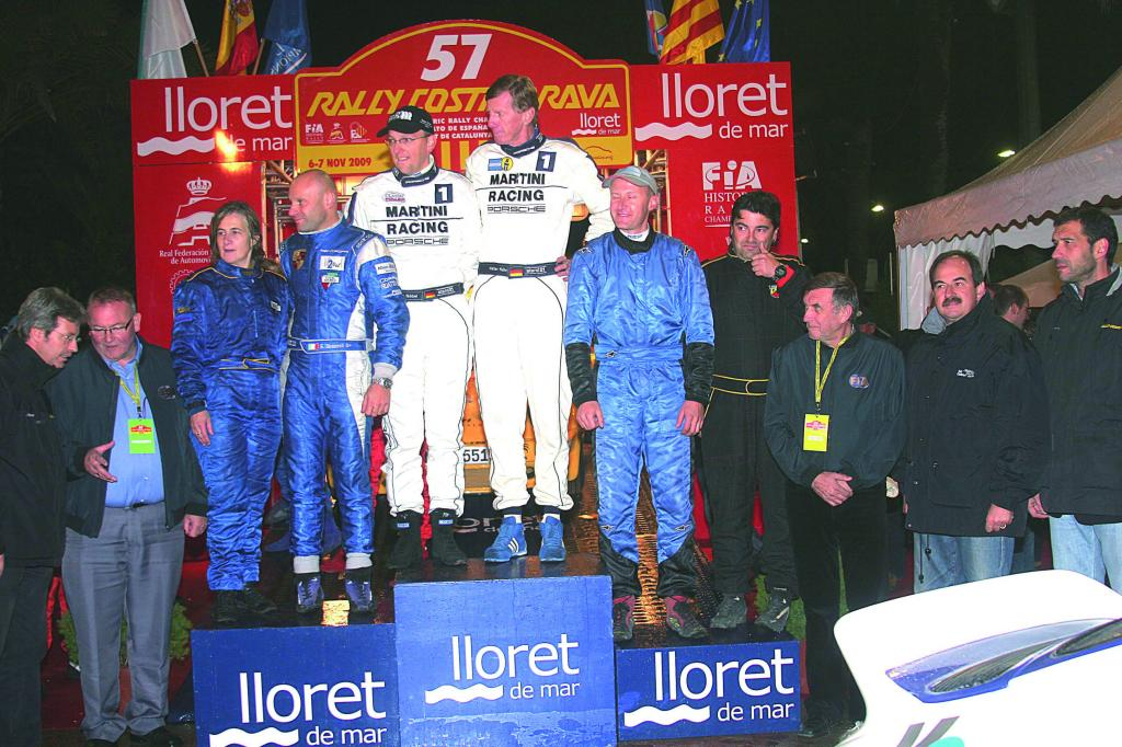 Röhrl siegt bei der Rallye Costa Brava