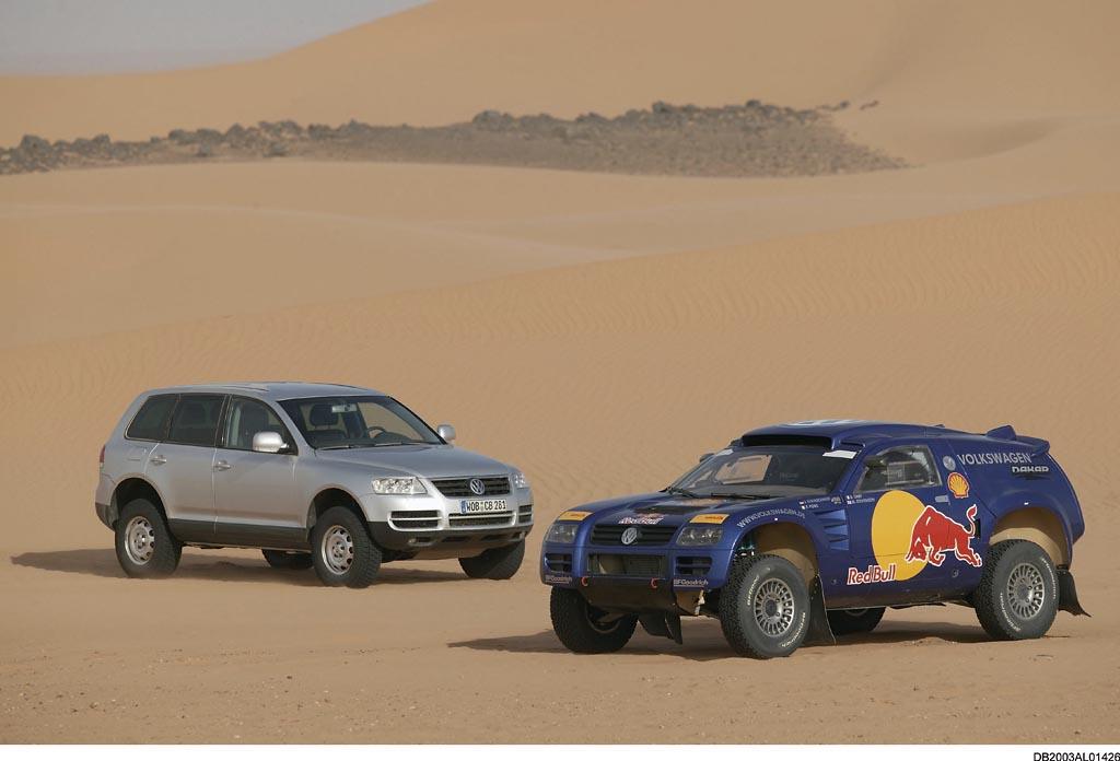 Rallye Dakar 2010: Volkswagen stellt sich neuen Herausforderungen