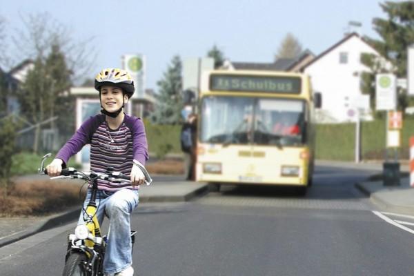 Recht: Radfahrer sollten in der Regel auf der Straße fahren