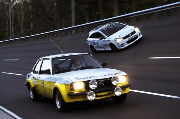 Rennsport-Jubiläum bei Opel