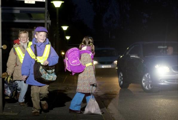 So wird der Winter-Schulweg kindersicher