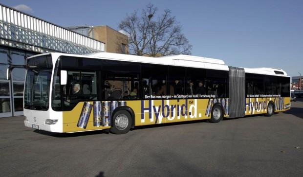 Stuttgart testet Hybrid-Bus im Linienverkehr