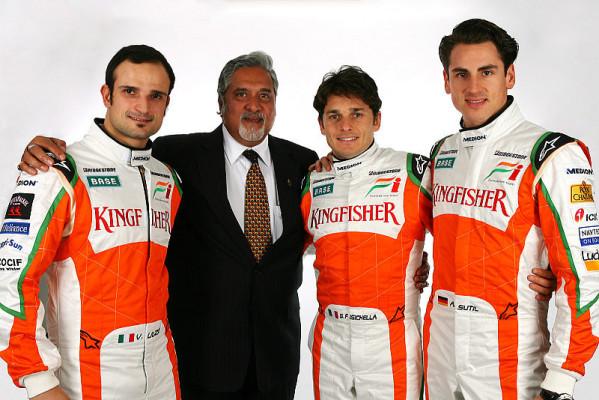 Sutil bleibt bei Force India: Liuzzi möchte punkten