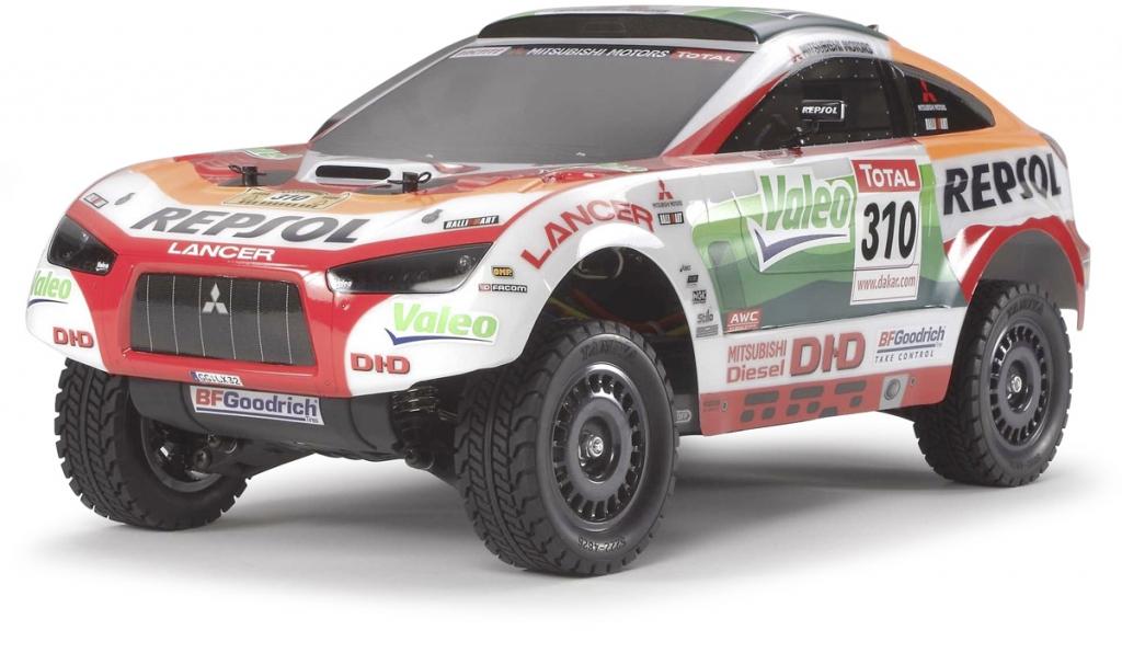 Tamiya präsentiert letzten Rallye-Mitsubishi