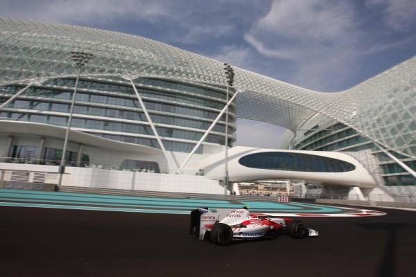 Tolles Rennen von Kamui Kobayashi in Abu Dhabi
