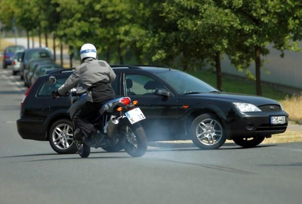 Viele Motorradunfälle wären durch ABS vermeidbar