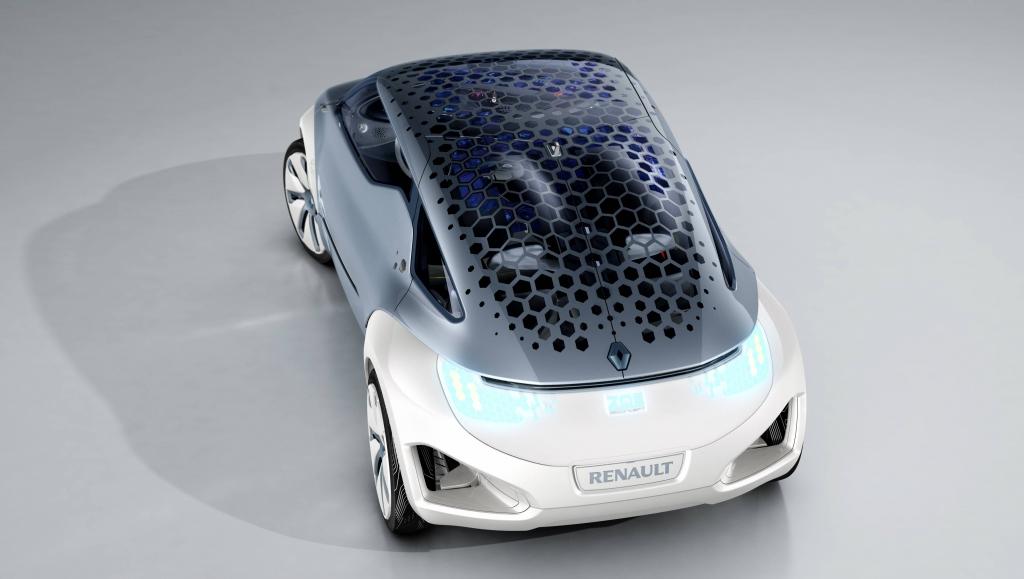 Zoe Z.E. Concept, Elektroauto, 2009