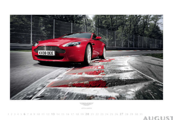 auto.de-Weihnachts-Gewinnspiel: Aston Martin Kalender 2010 – Emotion und Leidenschaft