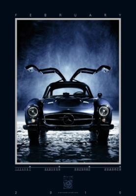 auto.de-Weihnachts-Gewinnspiel: Mercedes-Benz 300 SL Kalender 2010