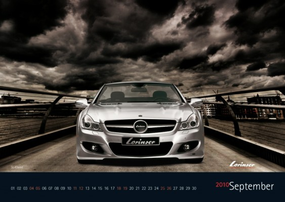 auto.de-Weihnachts-Gewinnspiel: Mercedes vom Feinsten – limitierter Lorinser Kalender 2010