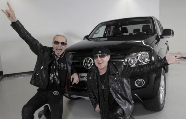 ''The Scorpions'': Der Volkswagen Amarok rockt