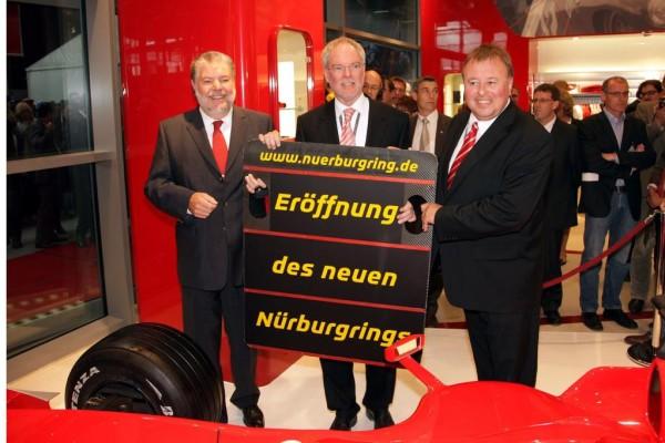 Am Nürburgring wird aufgeräumt