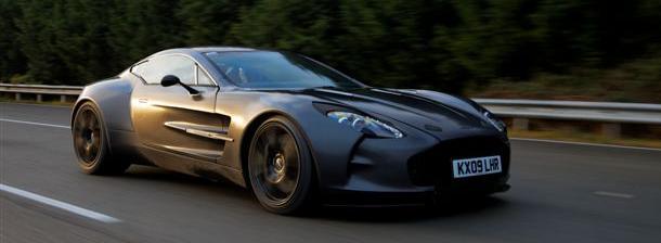 Aston Martin One-77: High-Speed-Test mit 354.86 kmh/h