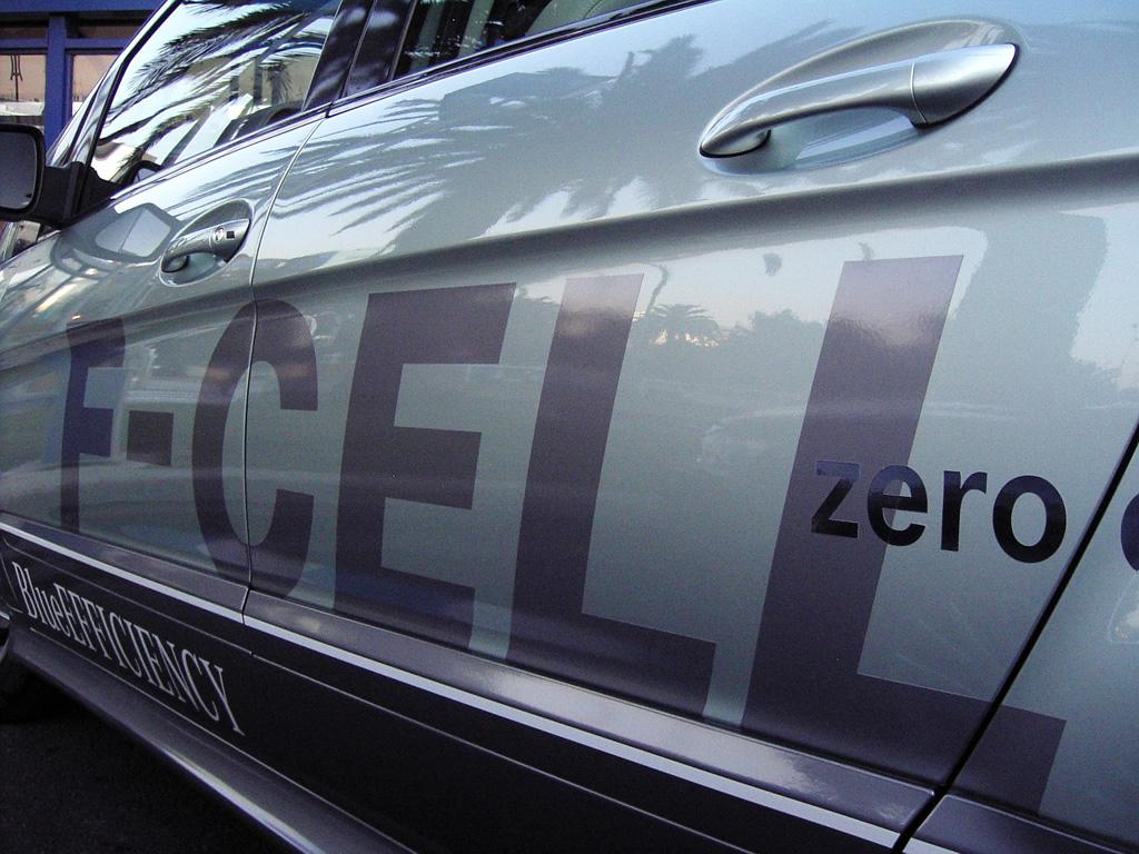 Auch der neue B-Klasse-F-Cell gehört zur Mercedes-BlueEfficiency-Flotte.