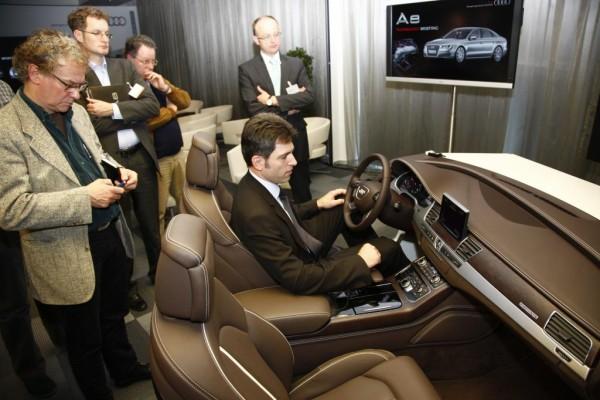 Audi A8 Technology Briefing: Das stolze Statement eines Vorreiters