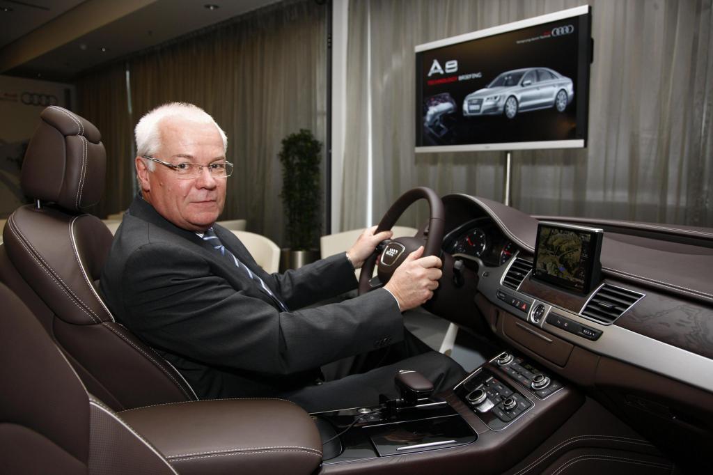 Audi A8 will ''Vorsprung durch Technik'' auf eigene Art demonstrieren
