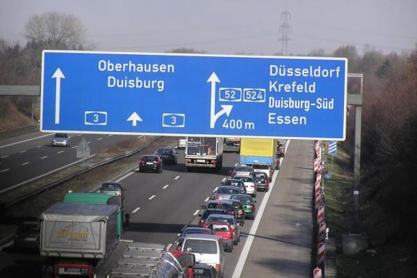 Autobahnen: In Essen besonders schneller Anschluss