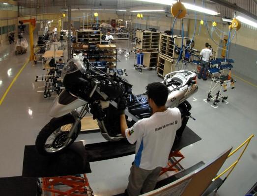 BMW montiert Motorräder bei DAFRAS in Brasilien