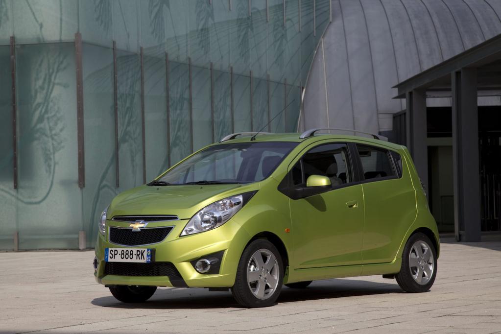 Chevrolet Spark ab 8 990 Euro
