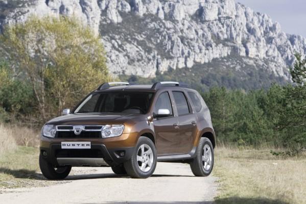 Dacia Duster: Allrader kommt 2010