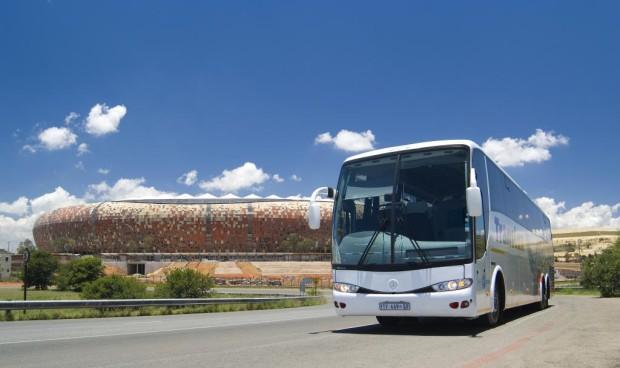 Daimler liefert 460 Mercedes-Benz-Busse für die Fußball-WM