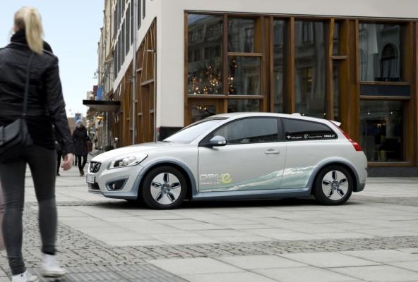 Detroit 2010: Volvo stellt C30 Electric vor