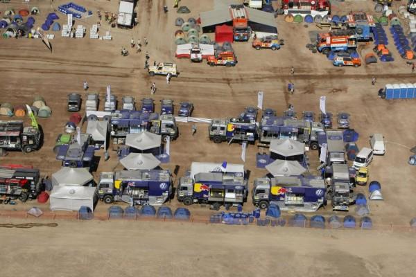 Die Rallye Dakar 2010 in Zahlen