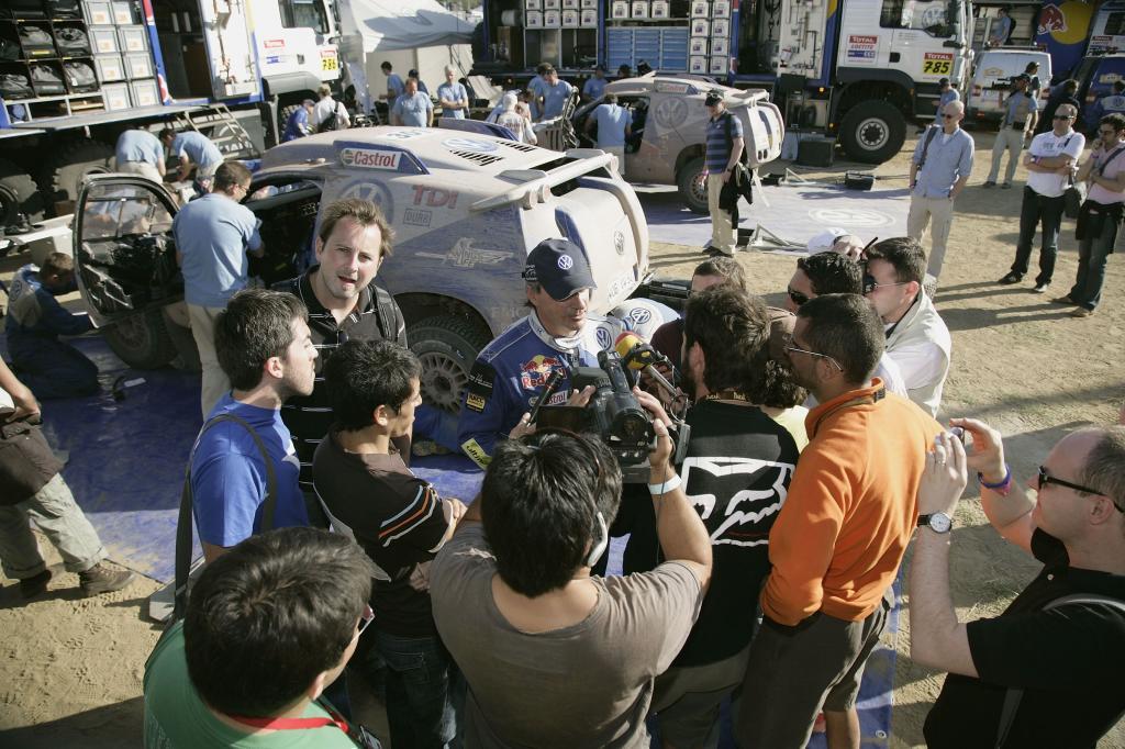 Die Rallye Dakar – weltweites Medienereignis