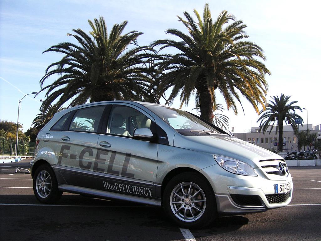 Die neue Mercedes-Brennstoffzellen-B-Klasse, auch F-Cell genannt.