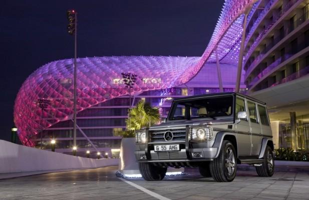 Dubai Motor Show: Mercedes G-Modell in der Golf Region beliebt