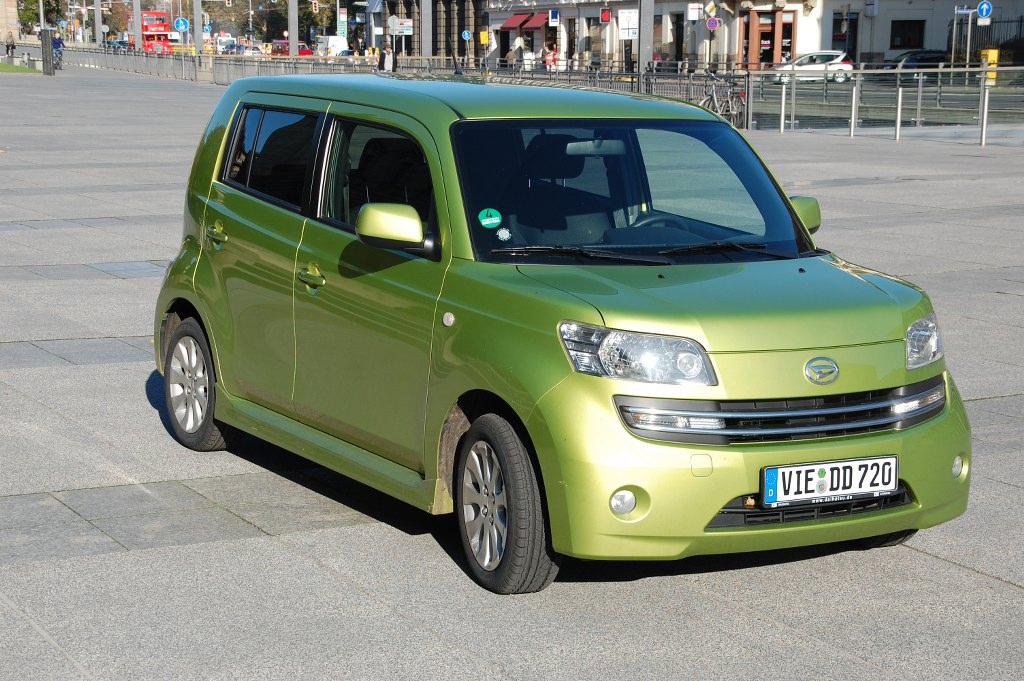 Erstkontakt Daihatsu Materia 1.5 DVVT: MATERISCH, praktisch, gut