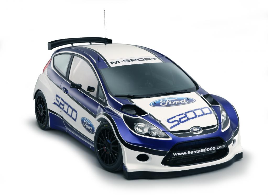 Ford Fiesta S2000.