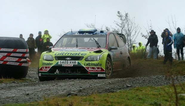 Hirvonen gewinnt Memorial Bettega Rallyesprint : Hirvonen vor Ogier