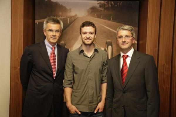 Justin Timberlake – Audis neuer Markenbotschafter