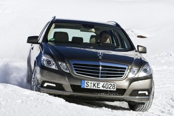 Kurztest: Allradantrieb für Mercedes E-Klasse