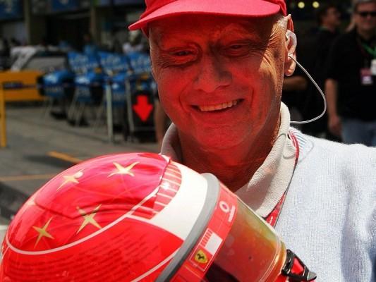 Lauda: Schumacher fährt vorne mit: Formel 1 wird spannender
