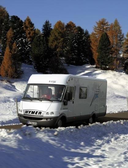 M+S-Reifen auch für Wohnwagen und Reisemobil