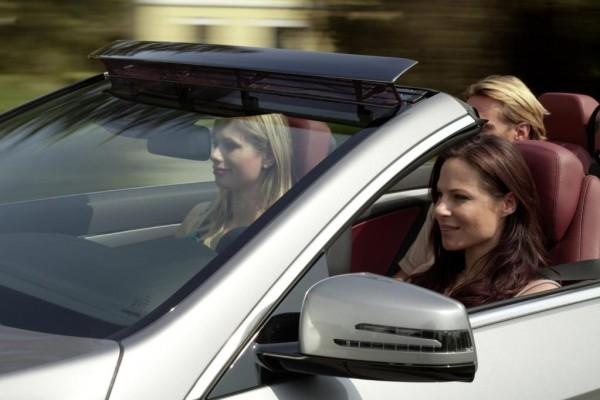 Mercedes-Benz E-Klasse Cabrio - Gegen den (Luft-)Strom