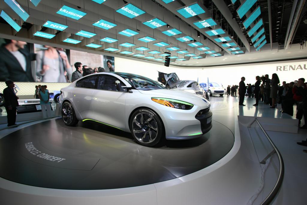 Renault stellt zum Klimagipfel Elektroautos bereit - Bild
