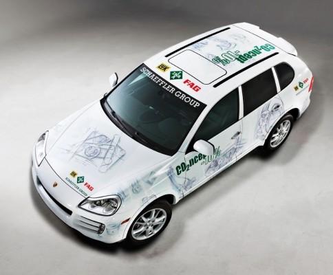 Schaeffler zeigt Porsche-Studie zur Senkung von CO2-Emissionen