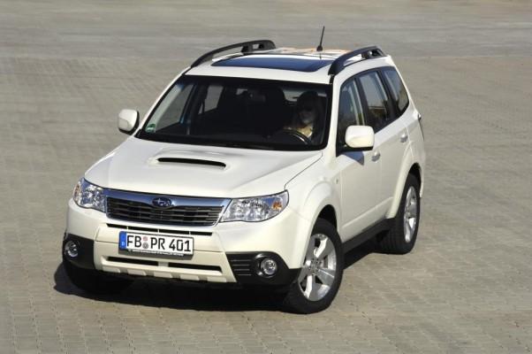 Subaru mit leichtem Zulassungsminus