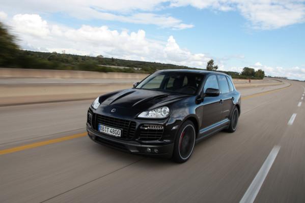 Techart Geschwindigkeitsrekord:  321,2 km/h im Fullsize-SUV