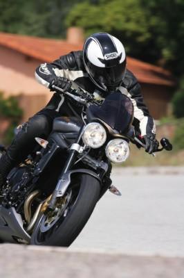 Triumph wuchs stärker als andere Motorradmarken