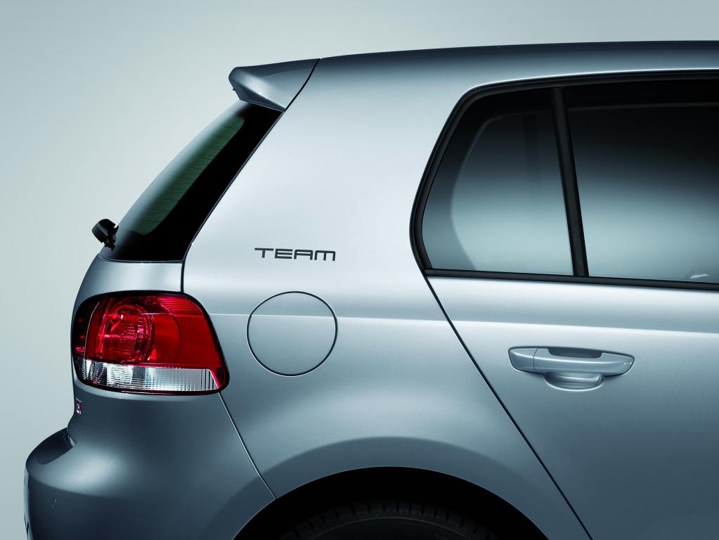 "Volkswagen Golf Sondermodelle ""TEAM"""