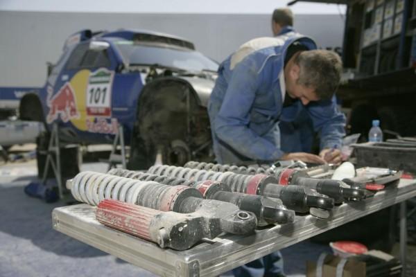 Volkswagen-Mannschaft perfekt ausgerüstet für die Rallye Dakar