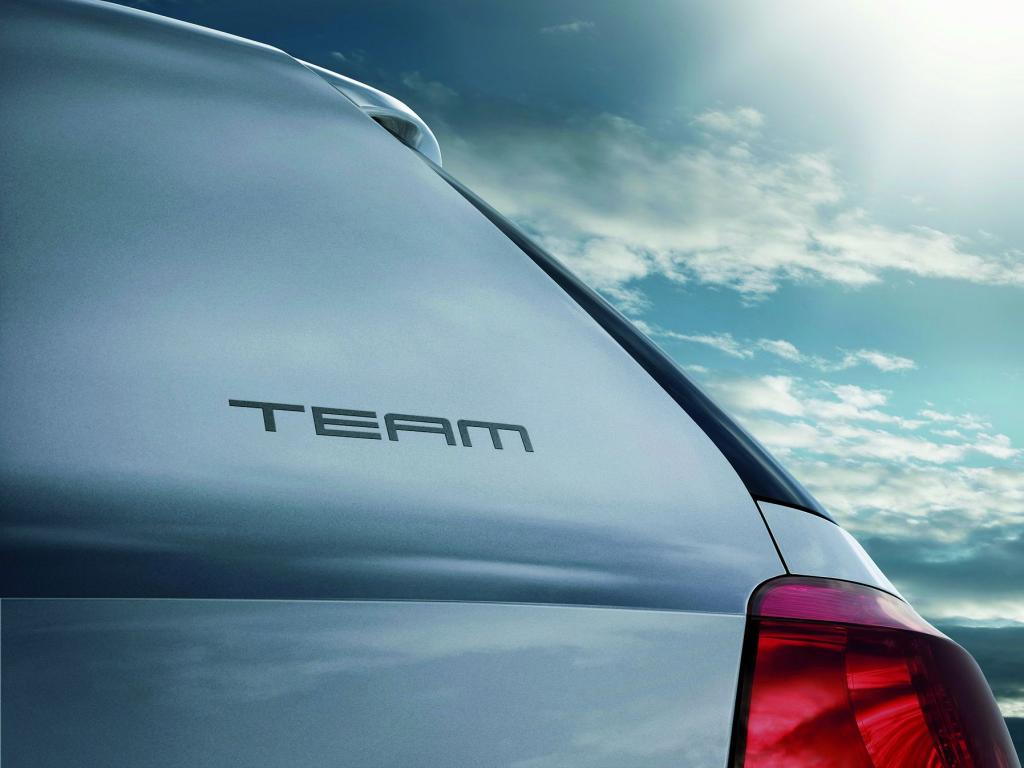 """Volkswagen präsentiert Sondermodelle """"TEAM"""""""